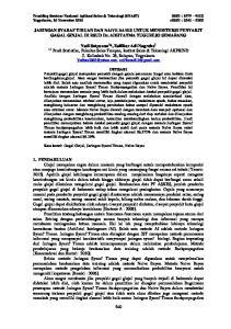 JARINGAN SYARAF TIRUAN DAN NAIVE BAYES UNTUK MENDETEKSI PENYAKIT GAGAL GINJAL DI RSUD Dr. ADHYATMA TUGUREJO SEMARANG
