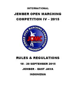JEMBER OPEN MARCHING COMPETITION IV 2015
