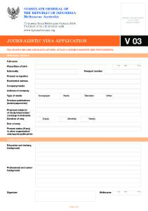 journalistic visa application V 03