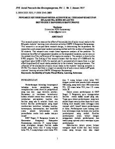 JPK: Jurnal Pancasila dan Kewarganegaraan, Vol. 1, No. 2, Januari 2017