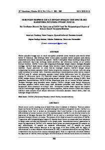 JST Kesehatan, Oktober 2012, Vol. 2 No. 4 : ISSN