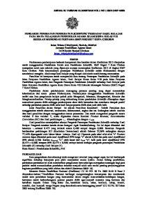JURNAL AL TARBAWI AL HADITSAH VOL 1 NO 1 ISSN