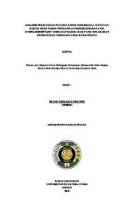 JURNAL. Disusun dan Diajukan Untuk Melengkapi Persyaratan Memperoleh Gelar Sarjana Hukum Pada Fakultas Hukum Universitas Sumatera Utara OLEH :