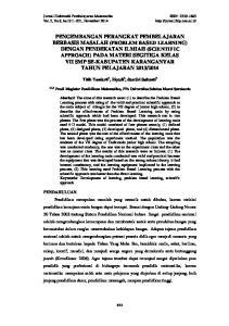 Jurnal Elektronik Pembelajaran Matematika ISSN: