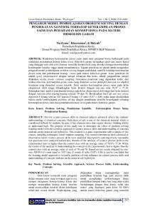 Jurnal Ilmiah Pendidikan Kimia Hydrogen Vol. 3 No.1, ISSN