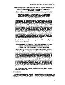 Jurnal Ilmiah Teknik Sipil Vol. 18, No. 1, Januari 2014