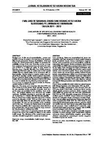 JURNAL KEBIJAKAN KESEHATAN INDONESIA EVALUASI BESARAN ALOKASI DAK BIDANG KESEHATAN SUBBIDANG PELAYANAN KEFARMASIAN TAHUN