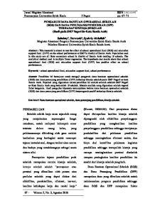 Jurnal Magister Akuntansi ISSN Pascasarjana Universitas Syiah Kuala 5 Pages pp