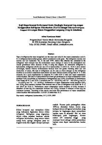 Jurnal Mechanical, Volume 3, Nomor 1, Maret 2012