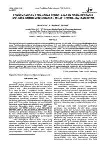 Jurnal Pendidikan Fisika Indonesia 7 (2011): 84-88