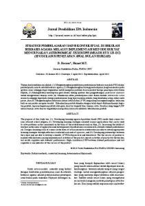 Jurnal Pendidikan IPA Indonesia