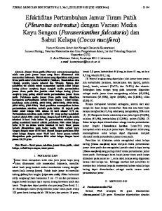 JURNAL SAINS DAN SENI POMITS Vol. 2, No.2, (2013) ( X Print) E-144