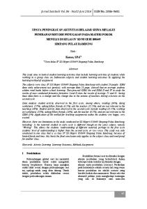 Jurnal Saintech Vol No.02-Juni 2014 ISSN No