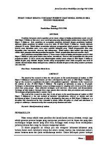 Jurnal Sosialisasi Pendidikan Sosiologi-FIS UNM