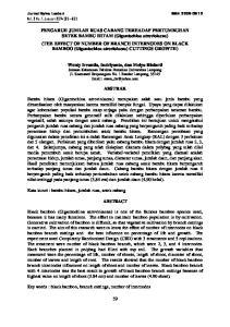 Jurnal Sylva Lestari ISSN Vol. 2 No. 1. Januari 2014 (59 66)