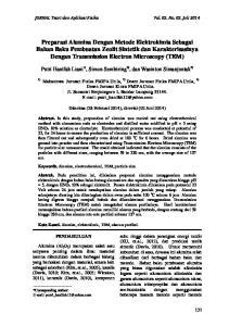 JURNAL Teori dan Aplikasi Fisika Vol. 02, No. 02, Juli 2014