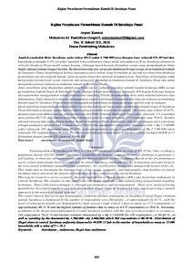 Kajian Persebaran Permukiman Kumuh Di Surabaya Pusat