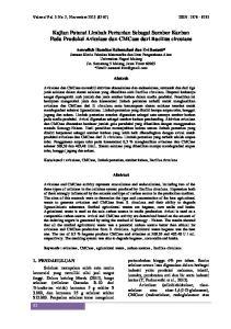 Kajian Potensi Limbah Pertanian Sebagai Sumber Karbon Pada Produksi Avicelase dan CMCase dari Bacillus circulans