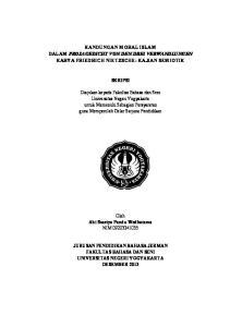 KANDUNGAN MORAL ISLAM DALAM PROSAGEDICHT VON DEN DREI VERWANDLUNGEN KARYA FRIEDRICH NIETZSCHE: KAJIAN SEMIOTIK