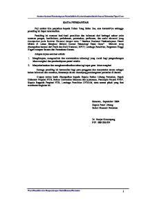 KATA PENGANTAR. Mataram, September 2004 Kepala Pusat Litbang Sosial Ekonomi Pertanian. Dr. Pantjar Simatupang NIP