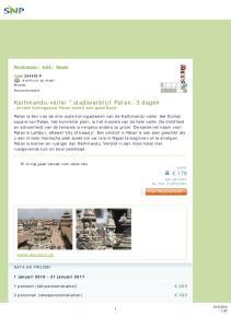 Kathmandu-vallei * stadsverblijf Patan, 3 dagen, ontdek koningsstad Patan vanuit een goed hotel