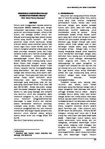 KEDUDUKAN SAKSI KORBAN DALAM PEMBUKTIAN PERKARA PIDANA 1 Oleh: Mekri Norton Kumajas 2
