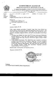 KEMENTERIAN AGAMA RI DIREKTORAl' JENDIIRAT, 131