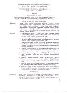 KEMENTERIAN KEUANGAN REPUBLIK INDONESIA DIREKTORATJENDERALPERBENDAHARAAN