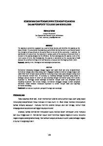 KEMISKINAN DAN PENGARUHNYA TERHADAP KEJAHATAN DALAM PERSPEKTIF TEOLOGIS DAN SOSIOLOGIS