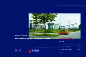 Kennisbundel Herstructurering van bedrijventerreinen