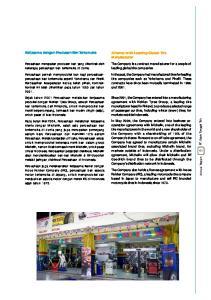 Kerjasama dengan Produsen Ban Terkemuka. Alliance with Leading Global Tire Manufacturer