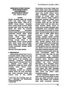 KEWENANGAN ADVOKAT DIDALAM SISTEM PERADILAN PIDANA GUNA MENUNJANG SISTEM PERADILAN TERPADU 1 Oleh : Fabian M. Rompis 2