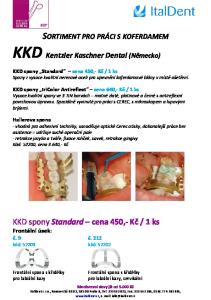 KKD Kentzler Kaschner Dental (Německo)