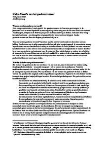 Kleine filosofie van het goederenvervoer Delft, maart 2008 Arie Bleijenberg