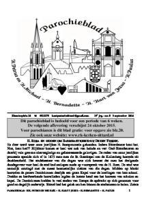 Kloosterplein e jrg. - nr. 8 3 september 2016