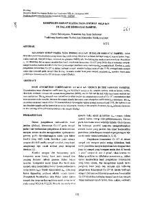 KOEFISIEN SERAP MASSA PADA ENERGI 661,6 key DI DALAM BERBAGAI SAMPEL. Gatot StUlariyono, Bunawas dail Asep Setiawan