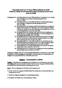Koninklijk besluit van 27 maart 1998 betreffende het beleid inzake het welzijn van de werknemers bij de uitvoering van hun werk (B.S