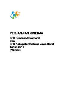 Kota se Jawa Barat Tahun 2016 (Review)