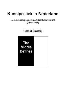 Kunstpolitiek in Nederland