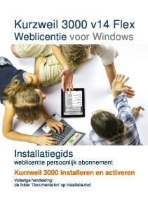 Kurzweil 3000 v14 Flex Weblicentie voor Windows