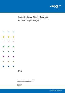 Kwantitatieve Risico Analyse