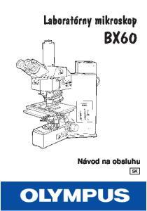 Laboratórny mikroskop BX60