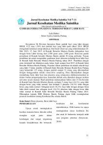 Laila Rahmi Stikes Syedza Saintika Padang ABSTRAK