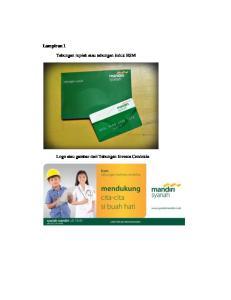 Lampiran 1. Tabungan rupiah atau tabungan induk BSM. Logo atau gambar dari Tabungan Investa Cendekia