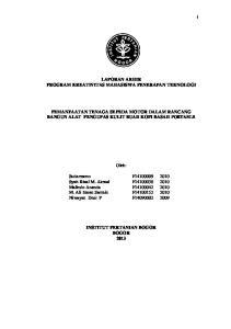 LAPORAN AKHIR PROGRAM KREATIVITAS MAHASISWA PENERAPAN TEKNOLOGI