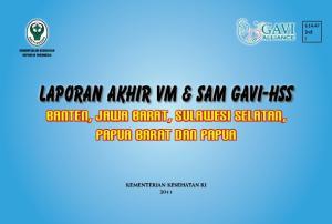 Laporan Akhir VM & SAM Gavi-HSS Banten, jawa barat, Sulawesi selatan, Papua barat dan Papua