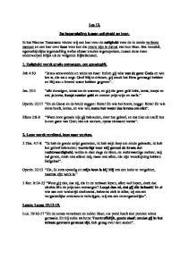 Les 12. De tegenstelling tussen zaligheid en loon