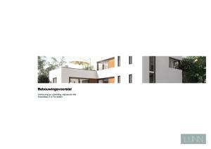 LIJNN. Bebouwingsvoorstel. Verbouwing en uitbreiding vrijstaande villa Zweerslaan 5 te Rotterdam. LOGO kleur