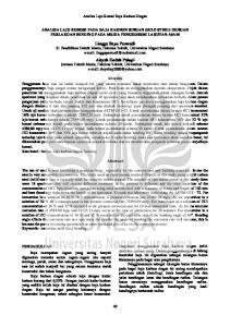 Lingga Bayu Permadi S1 Pendidikan Teknik Mesin, Fakultas Teknik, Universitas Negeri Surabaya