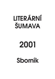LITERÁRNÍ ŠUMAVA. Sborník